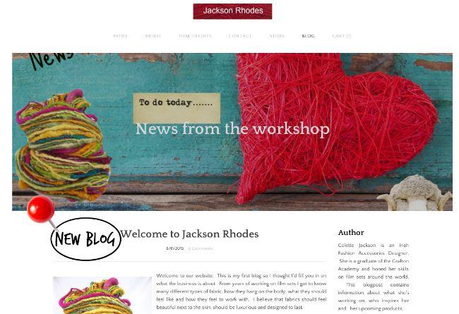 Colette Jackson Fashion Accessories - Jackson Rhodes