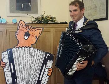 Topcat takes on Kilkenny Mayor Patrick ONeill