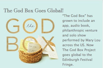 The Godbox (one-woman show to benefit hospice services) comes to Laois