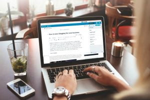 how to start blogging for your business