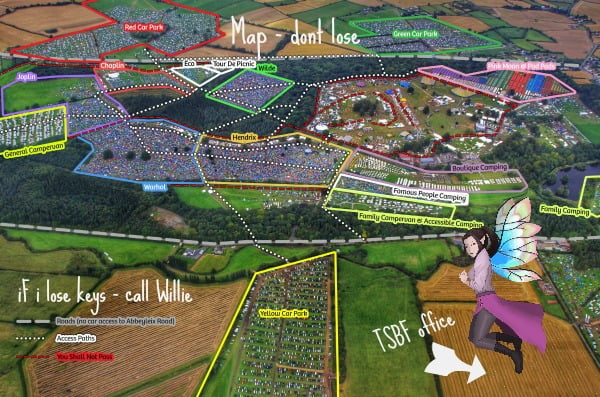 electric picnic 2017 map BY tHE small business fairy