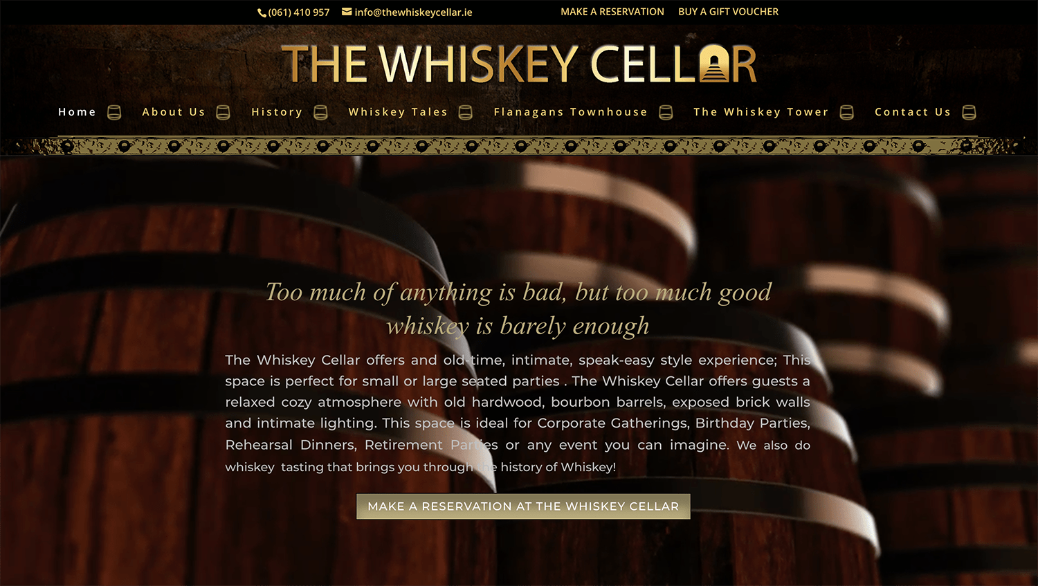 The Whiskey Cellar