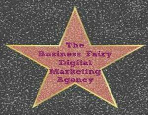 The Business Fairy Digital Marketing Agency Walk of fame Star