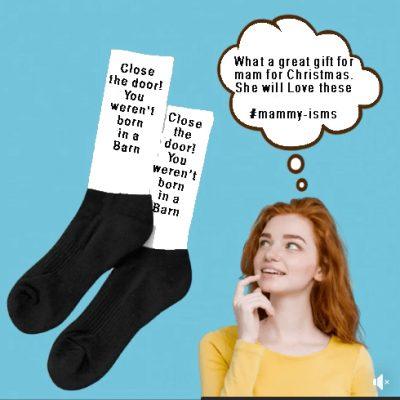 Mammy-ism socks were't born in a barn the business fairy digital marketing agency