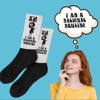 Snazzy Sock Designer DahlingThe Business Fairy Digital Marketing Agency
