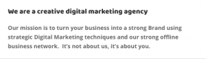 TBF About us page The Business fairy digital marketing agency