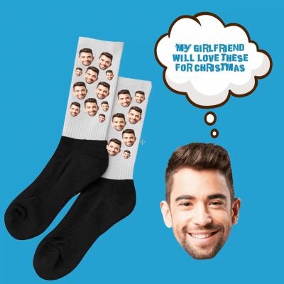 tbf digital marketing agency customised girlfriend socks with your head on them