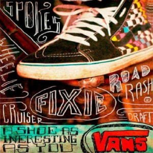 vans typography the business fairy digital marketing agency