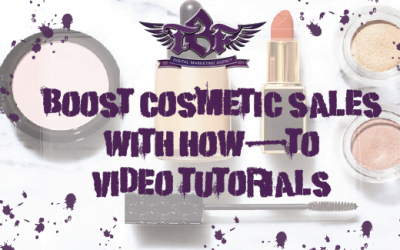 Boost Cosmetic Sales With How-to Video Tutorials