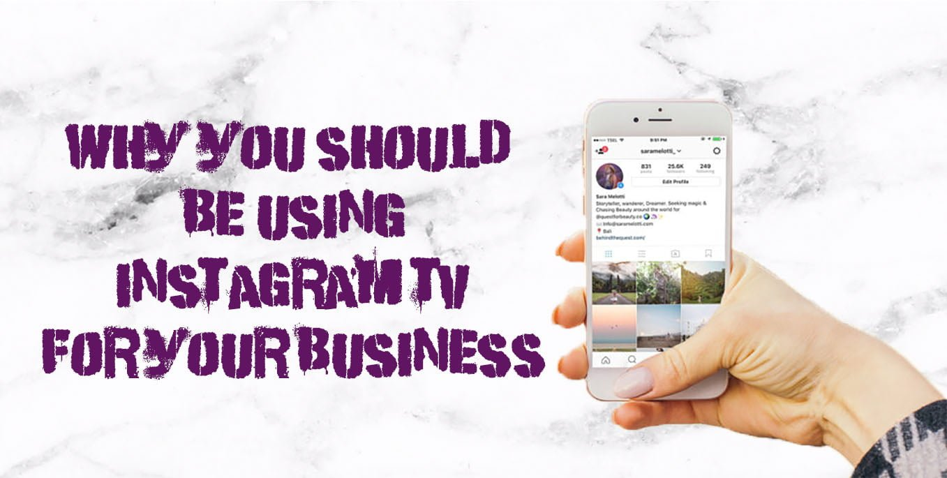 TBF why you should be using instagram tv for your business