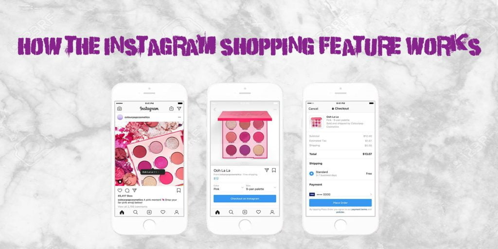 instagram's new shopping feature and it's advantages the business fairy digital Marketing agency copy