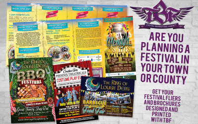 Event brochures need to be a balance between the impactful and informative