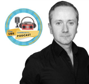 Johnny Beirne on the SME community podcast with Aisling Hurley of the business fairy (1)